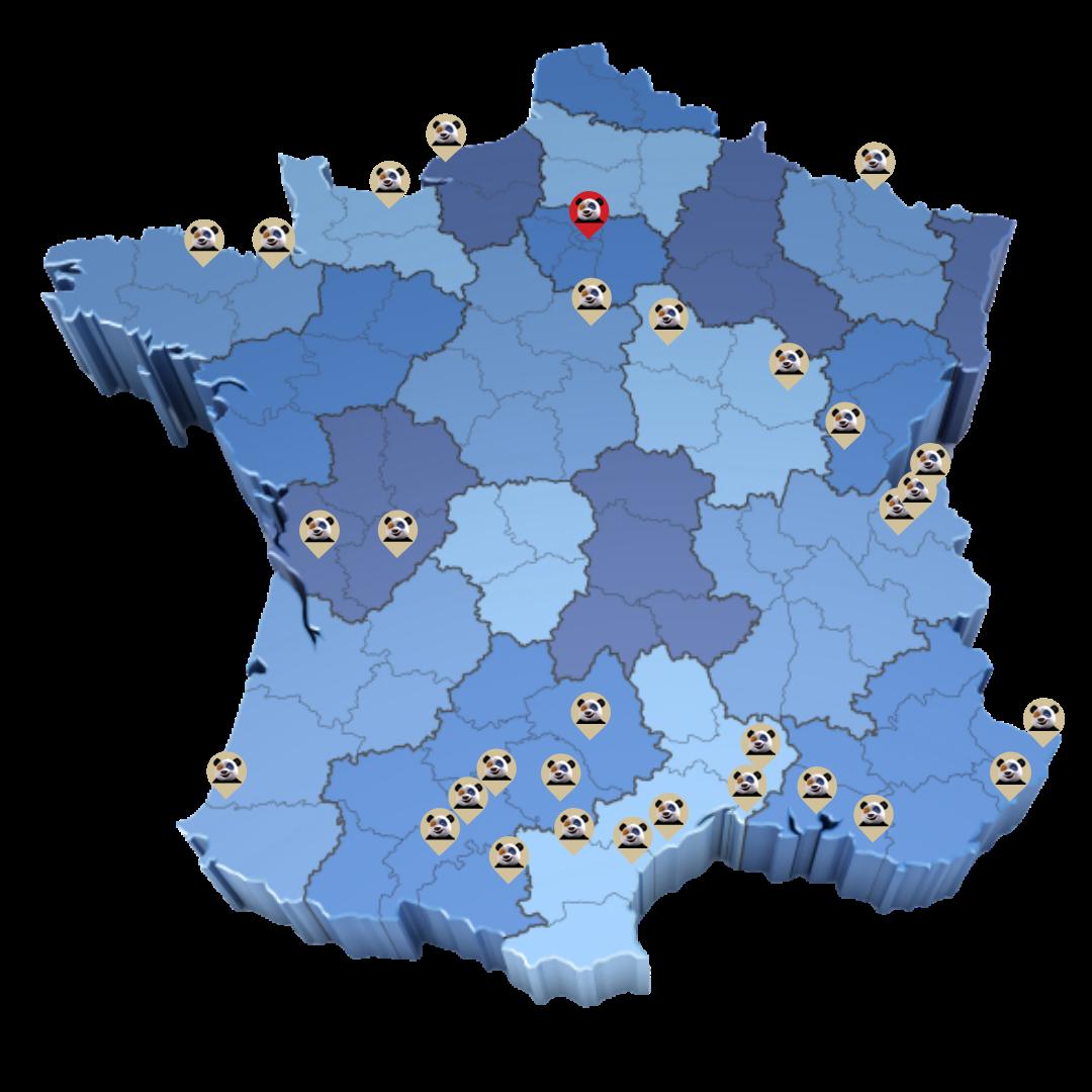 implantation réseau Fenetrier
